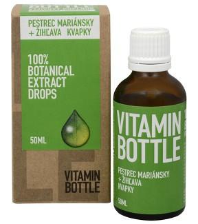Levně Ostropestřec mariánský s kopřivou - Vitamin Bottle, 50 ml,Ostropestřec mariánský s kopřivou - Vitamin Bottle, 50 ml