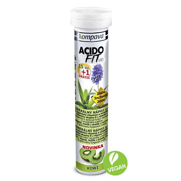 Levně AcidoFit MD - Kompava, 16 ks Kiwi,AcidoFit MD - Kompava, 16 ks Kiwi